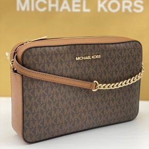 Michael Kors Crossbody Bag Signature Brown